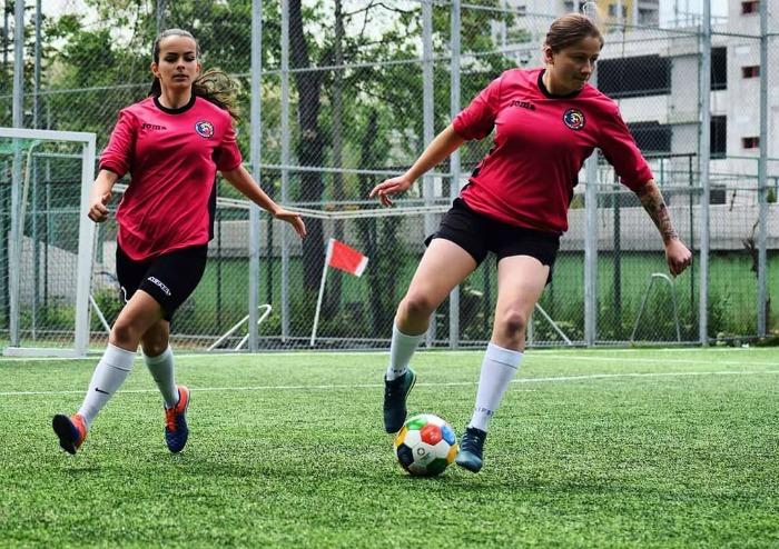 Laura Nedelcu, fotbalista, interviu, fotbal feminin