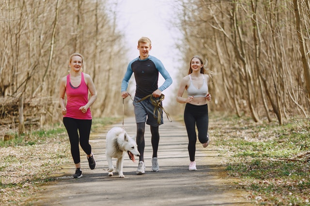 jogging, alergare, sport