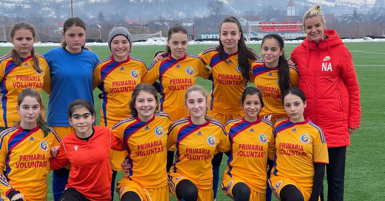 Nina Anca Zanele Voluntari FC Voluntari fotbal feminin cantonament fotbal I Love SPORT Winners antrenoare antrenament interviu NIna An