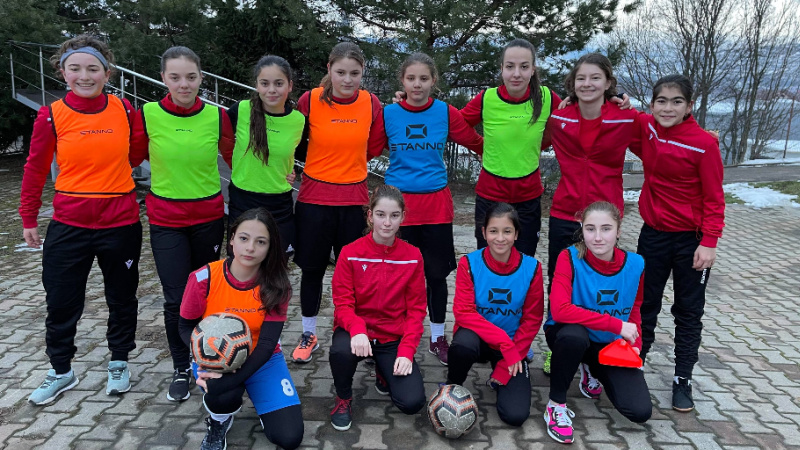 Nina Anca Zanele Voluntari FC Voluntari fotbal feminin cantonament fotbal I Love SPORT Winners antrenoare antrenament interviu NIna Anca